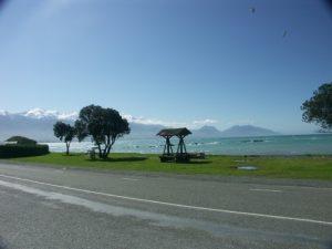 Strand in Kaikoura