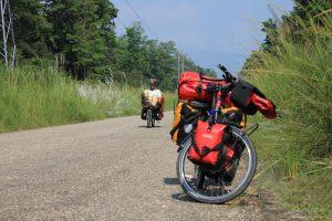 Mit dem Liegerad durch das westliche Terai in Nepal