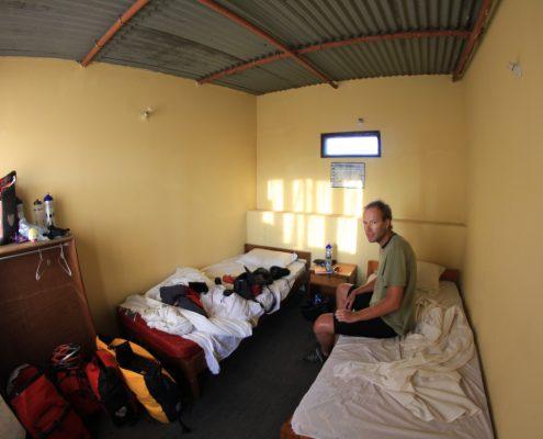 Hotelzimmer in Nepal