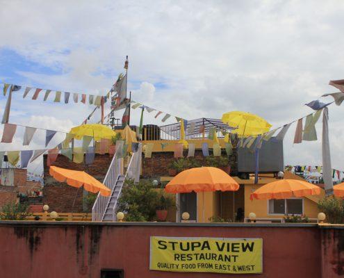 Swayambunath Stupa - Kathmandu
