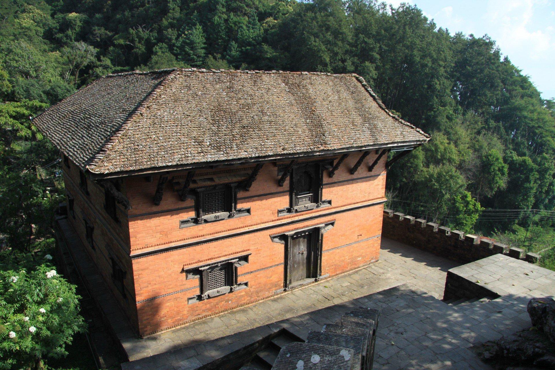 Königspalast in Gorkha Nepal