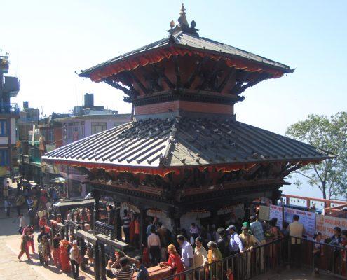 Der Manakamana Tempel in Nepal
