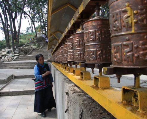 Swayambhu Stupa in Kathmandu
