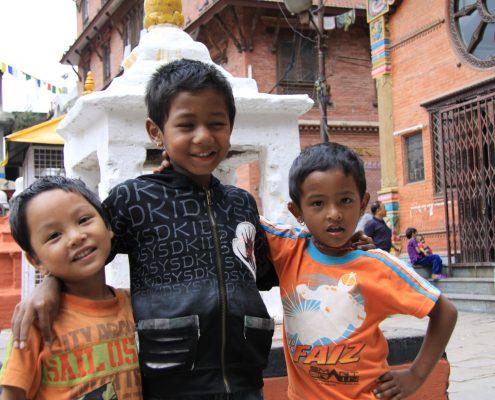 Strassenkinder Kathmandu
