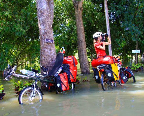 Hochwasser in Thailand