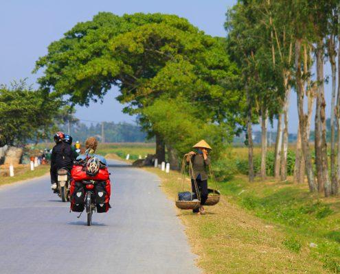 Auf den Strassen von Vietnam