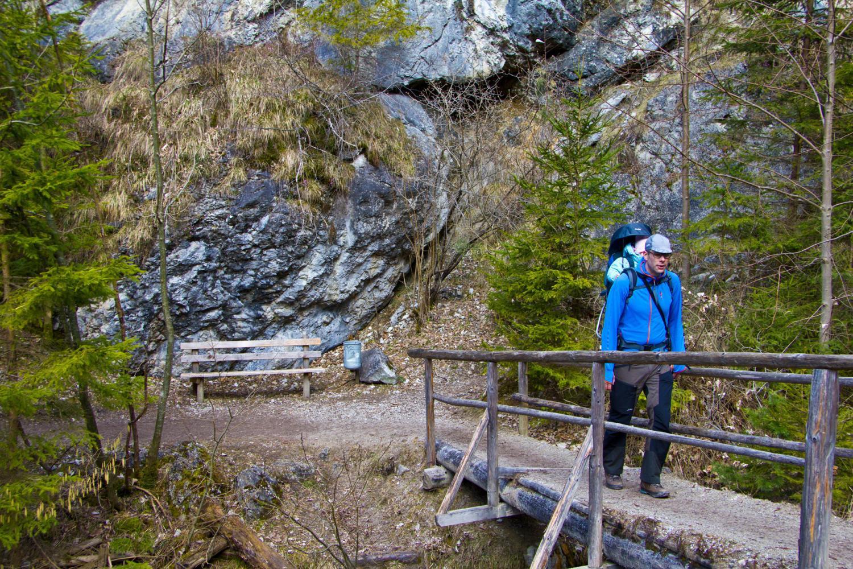Aufstieg zur Tannenhütte