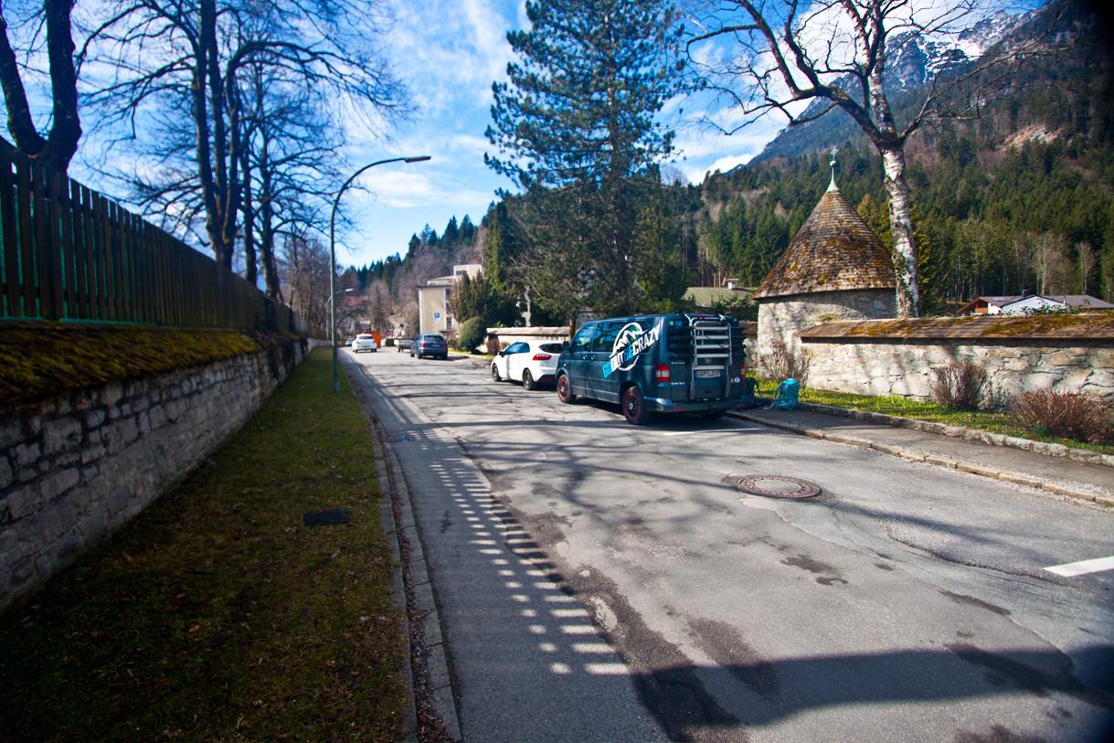 Parkplatz in der Brauhausstraße