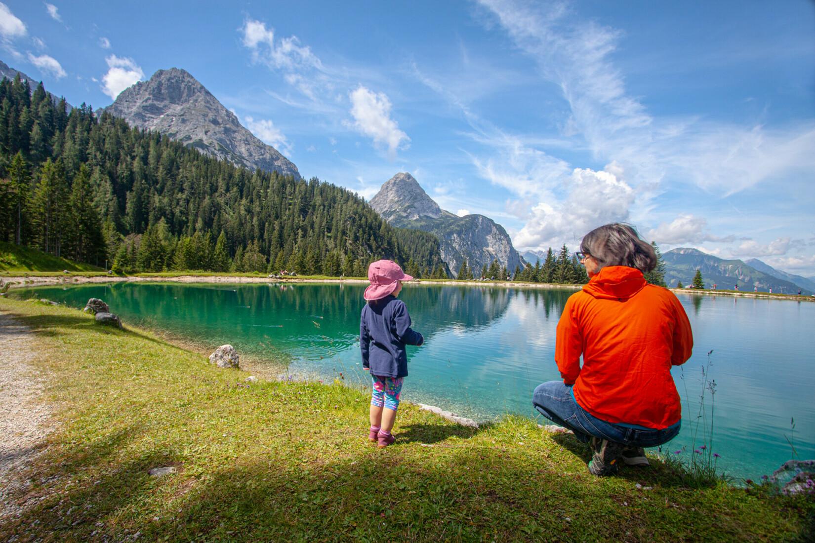 Almsee - Ehrwalder Alm Tirol