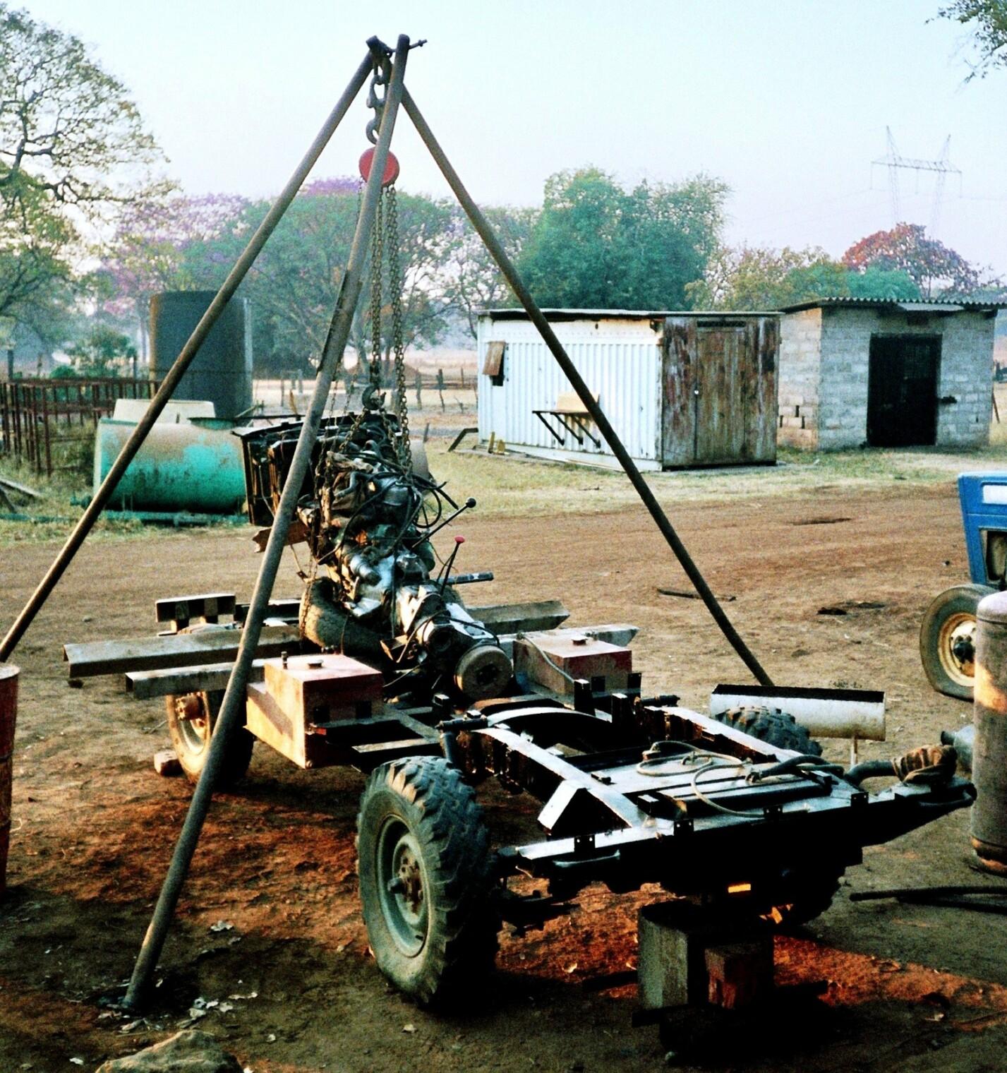 Matilda Rahmenwechsel Sambia