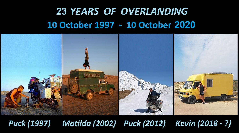 23 Jahren Weltreise