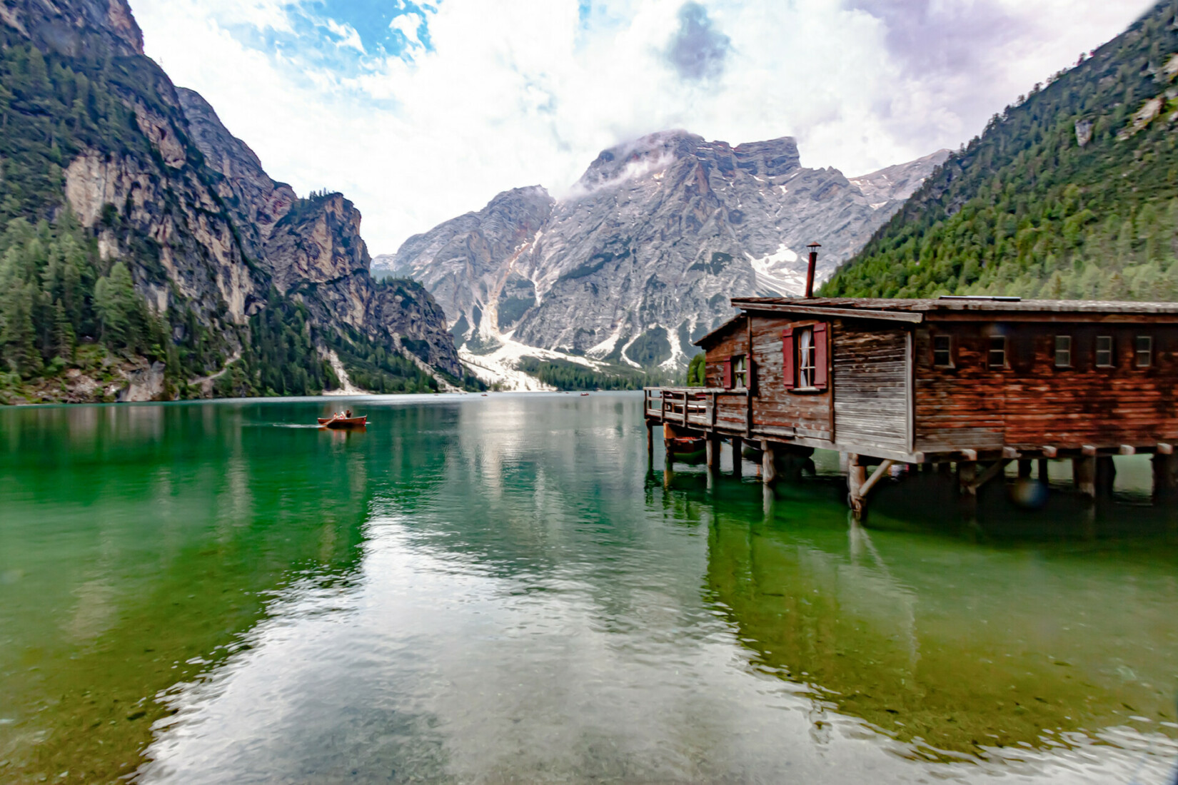 Pragser Wildsee Hütte