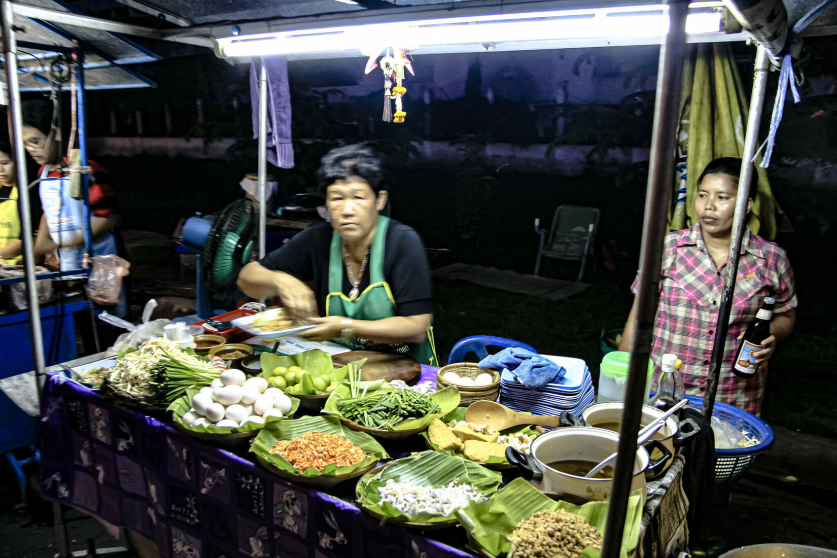 Ayutthaya Nachtmarkt
