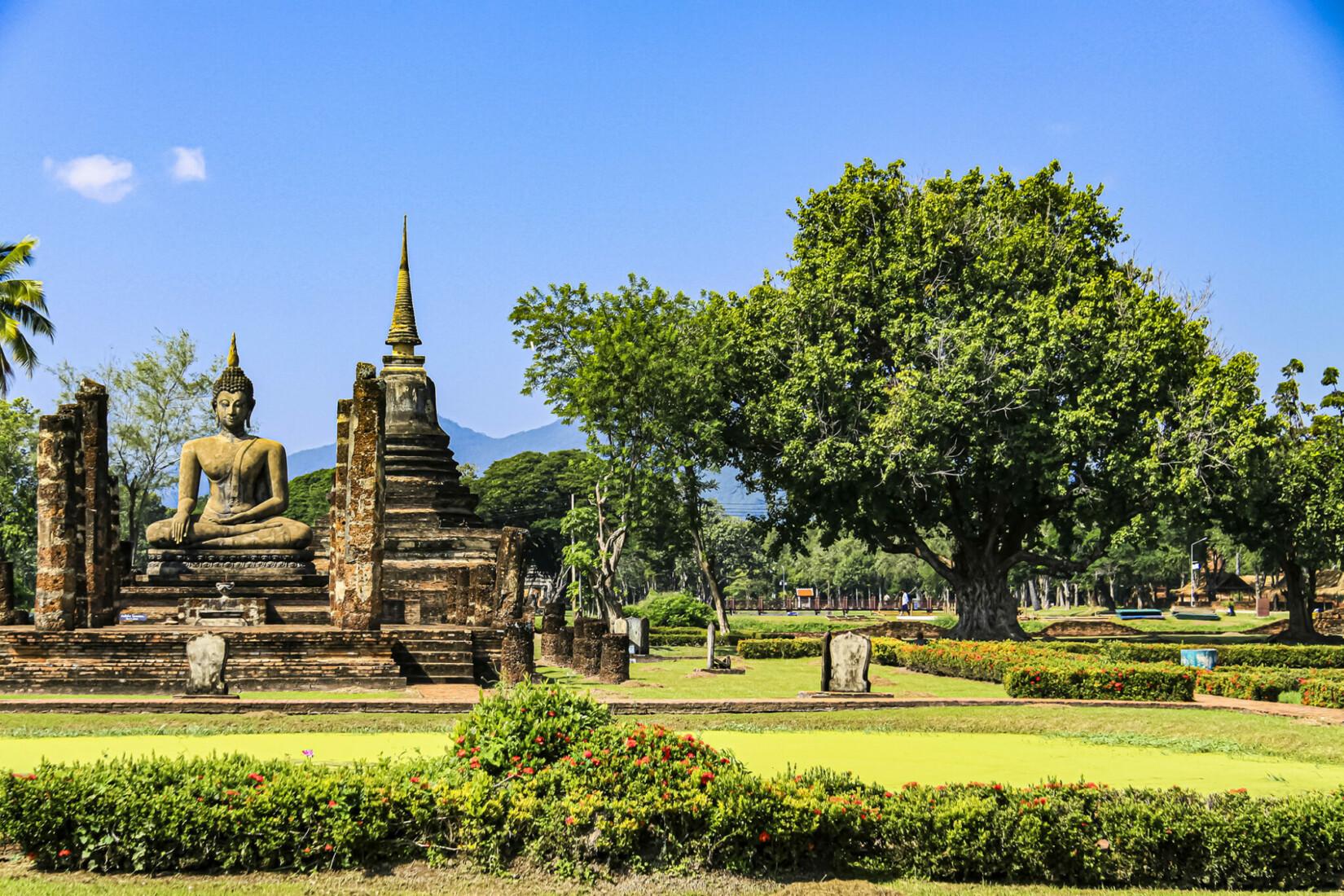 Sukhothai Tempel Thailand