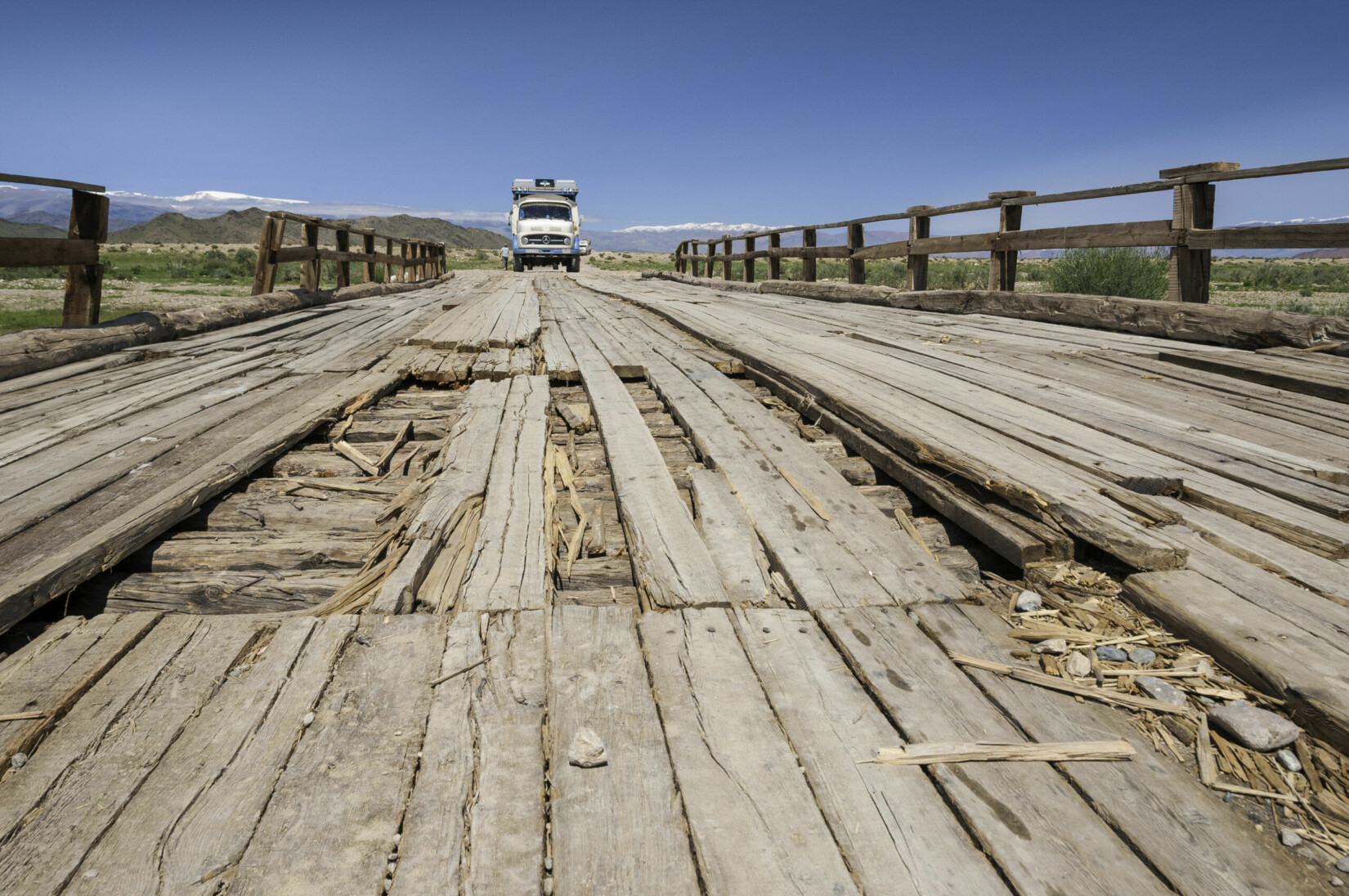 Mongolei - Brücke
